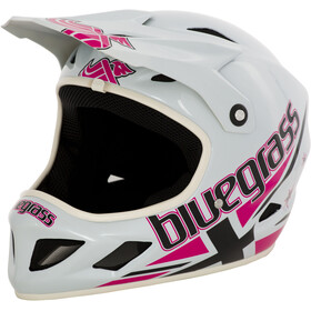 bluegrass Brave Casco Full Face, jack white/pink/black